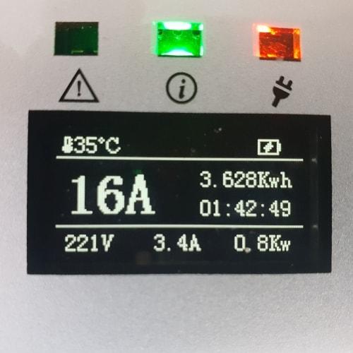 3-EV EVSE Typ 2 (max. 16A) EV nabíjecí