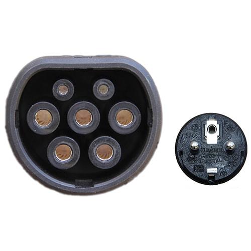 5-EV EVSE Typ 2 (max. 16A) EV nabíjecí